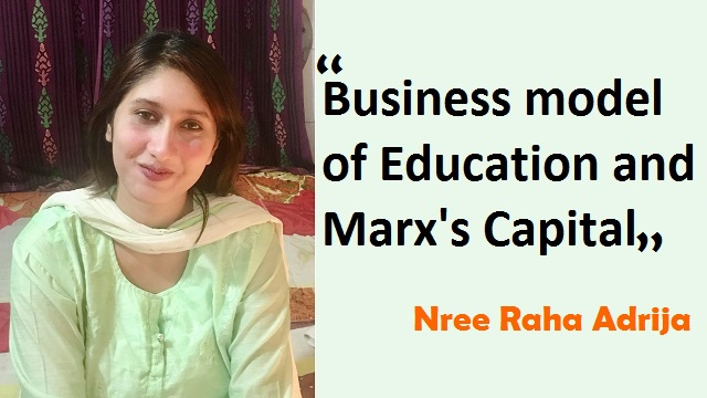 Business model of Education and Marx's Capital